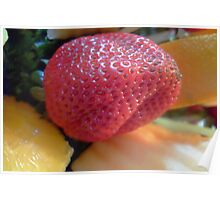 Fruit, strawberry Poster