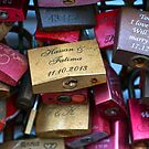 Love Locks, Cologne, Germany. by David A. L. Davies
