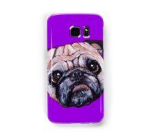 Butch the Pug - Purple Samsung Galaxy Case/Skin