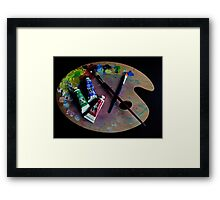 The Artist's Palette Framed Print
