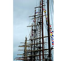 tall ships mast Photographic Print