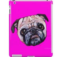 Butch the Pug - Pink iPad Case/Skin