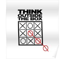 Funny Think Outside the Box Poster
