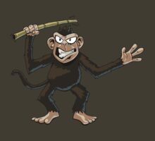 Angry Monkey by Adrian Sugden