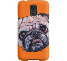 Butch the Pug - Orange Samsung Galaxy Case/Skin