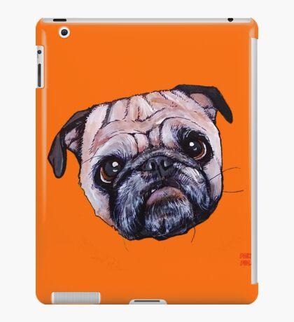 Butch the Pug - Orange iPad Case/Skin