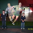 Me and my brother at the museum in Canberra by tigerboy9