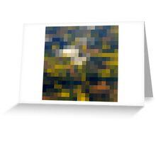 Fields' grid Greeting Card