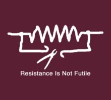 'Resistance Is Not Futile' - T Shirt by BlueShift