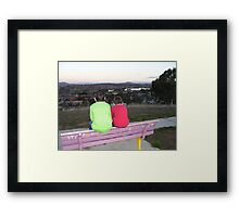 Through a childs eyes (Gungahlin, Australian Capital Territory) Framed Print
