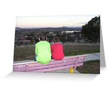 Through a childs eyes (Gungahlin, Australian Capital Territory) Greeting Card