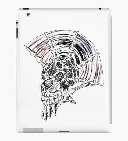 Punk Skull - plain iPad Case/Skin