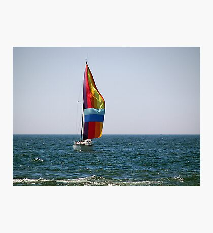 Blow Boat Photographic Print