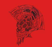 Punk Skull - plain One Piece - Long Sleeve
