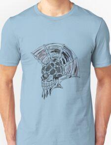 Punk Skull - plain Unisex T-Shirt
