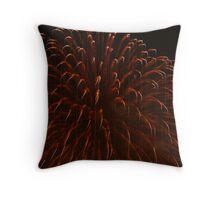 Fire Flower 2 Throw Pillow