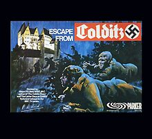 Escape from Colditz 70's board game by Luckyman