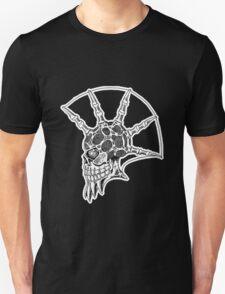Punk Skull - bordered T-Shirt
