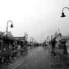 Rain Falls in Tarpon Springs by Nukee