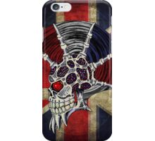 Union Jack Punk Skull iPhone Case/Skin