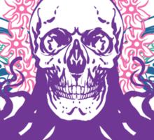 Skull octopus print Sticker