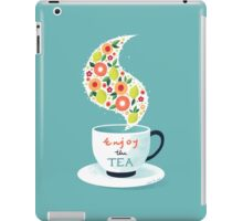 Enjoy the Tea iPad Case/Skin