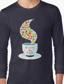 Enjoy the Tea Long Sleeve T-Shirt