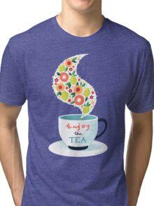 Enjoy the Tea Tri-blend T-Shirt