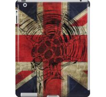 Union Jack Punk Skull - outline iPad Case/Skin
