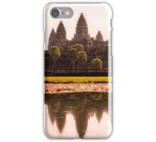 Angkor Wat reflections iPhone Case/Skin