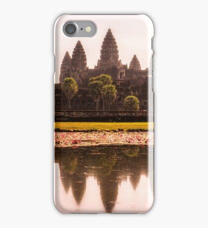 Angkor Wat reflections iPhone Case/Skin