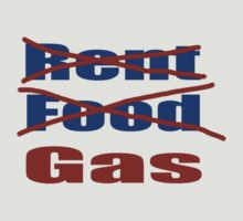 Rent Food Gas by Donna Grayson