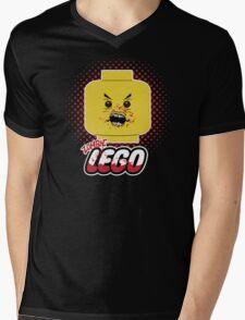 Lego Zombie Mens V-Neck T-Shirt