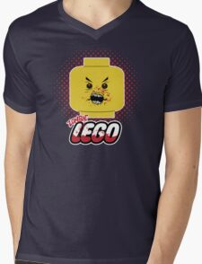 Lego Zombie Mens V-Neck T-Shirt