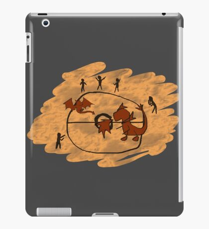 Rupestrian Pokemon Battle V.1 iPad Case/Skin