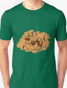Rupestrian Pokemon Battle V.1 Unisex T-Shirt
