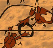 Rupestrian Pokemon Battle V.2 Sticker