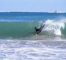 Booger taking off at Mullaloo by gamo