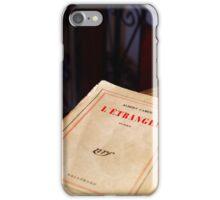 Camus - L'étranger - Edition 1962  iPhone Case/Skin