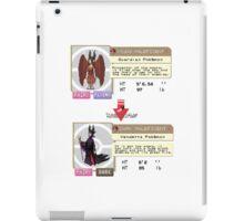 Maleficent Dex Info iPad Case/Skin