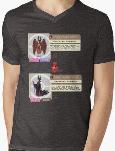 Maleficent Dex Info Mens V-Neck T-Shirt