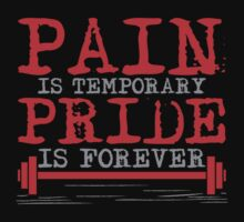Pain is temporary, Pride is forever by nektarinchen