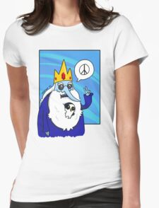 Ice King-Peace! Womens Fitted T-Shirt
