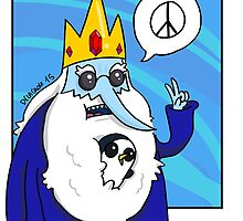 Ice King-Peace! by Delacroix911
