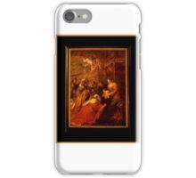 adoration of the magi iPhone Case/Skin