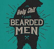 HOLY SHIT I LOVE BEARDED MEN by snevi