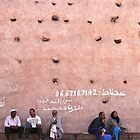 the wall of the medina by handheld-films