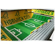 Carrow Road, Norwich Poster