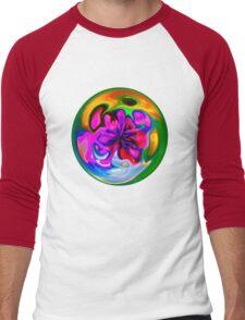 marble t Men's Baseball ¾ T-Shirt