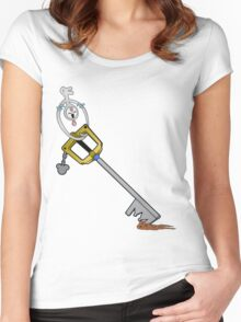 The Key is Mine Women's Fitted Scoop T-Shirt